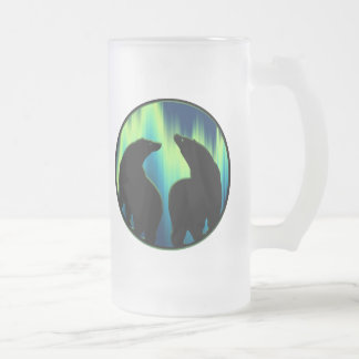 Polar Bear Art Beer Mug First Nations Bear Stein