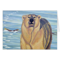 Polar Bear Art Cards Custom Wildlife Art Cards