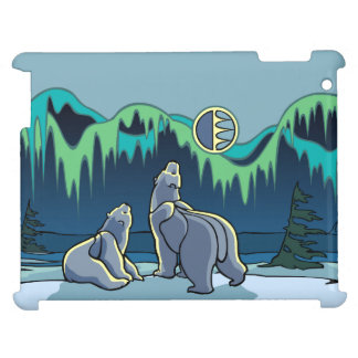 Polar Bear Art iPad Case Wildlife Art iPad Cases