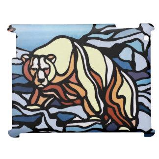 Polar Bear Art iPad Case Wildlife Art iPad Cases