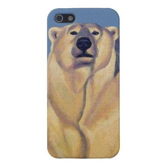 Polar Bear Art iPhone 5 Case Bear Art iPhone Case