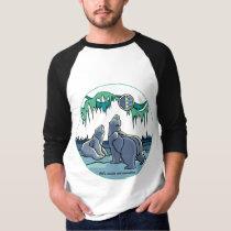 Polar Bear Art Jersey Men's Polar Bear Shirt