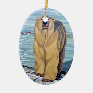 Polar Bear Art Ornament Bear Decorations Keepsake