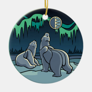 Polar Bear Art Ornament Bear Keepsake Bear Gifts