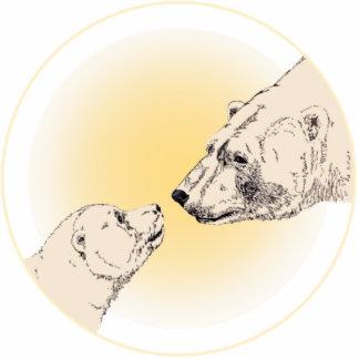 Polar Bear Art Ornament Bear Keepsake & Gifts Photo Sculpture