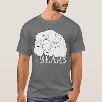 Polar Bear Art T-shirt Bear Cubs Unisex T-shirt