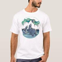 Polar Bear Art T-shirt First Nations Art T-shirts