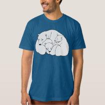 Polar Bear Art T-shirt Men's Organic Bear Shirt