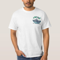 Polar Bear Art T-shirt Men's Polar Bear Shirt