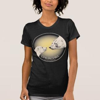 Polar Bear Art T-shirt Top Women's Churchill Shirt