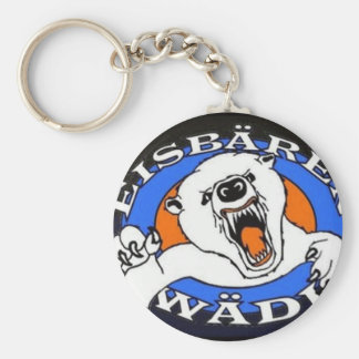 Polar bear article keychain