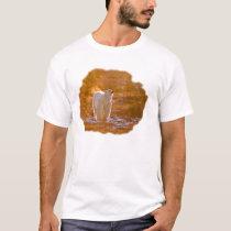 Polar bear at sunrise T-Shirt
