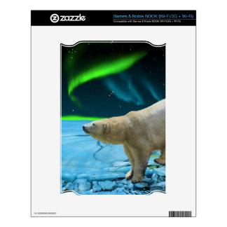 Polar Bear Aurora Wildlife Device Skin NOOK Skins