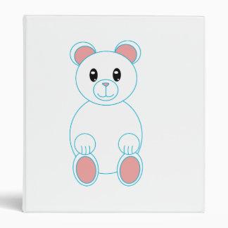 Polar Bear Avery Binder