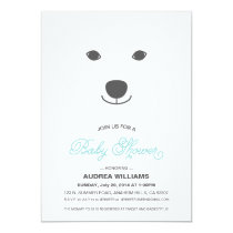Polar Bear Baby Shower Invitation