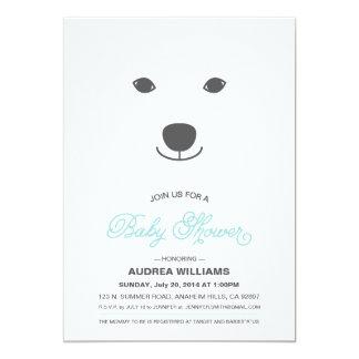 Polar Bear Baby Shower Invitation