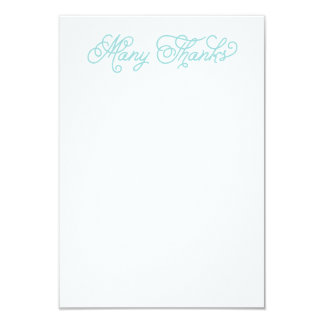 Polar Bear Baby Shower Thank You Note Card