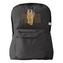 Polar Bear Backpack Bear School Bags Customizable