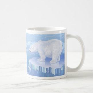 Polar Bear Basic White Mug