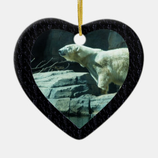 Polar Bear: Berlin Ceramic Ornament