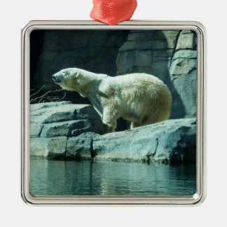 Polar Bear: Berlin Metal Ornament