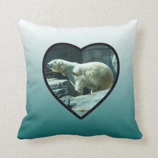 Polar Bear: Berlin Throw Pillow