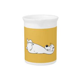 Polar bear beverage pitchers