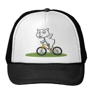 Polar Bear Biker Hats