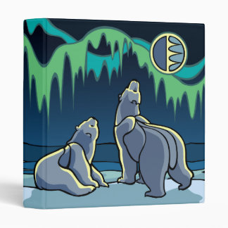 Polar Bear Binder Custom Cute Bear Art Photo Album