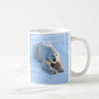 Polar Bear Blue Coffee Mug