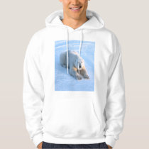 Polar Bear Blue Hoodie
