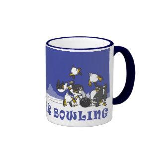 POLAR BEAR BOWLING RINGER COFFEE MUG