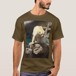 Polar Bear Brown T Shirt