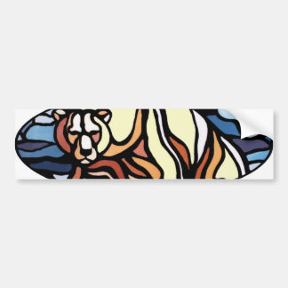 Polar Bear Bumper Sticker Canada Wildlife Gifts