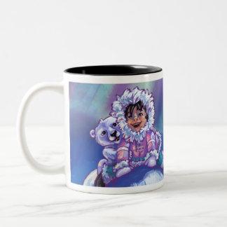 Polar Bear Bus Coffee Mugs