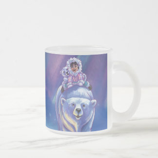 Polar Bear Bus Coffee Mug