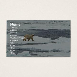 Polar Bear Business Card