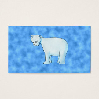 Polar Bear. Business Card