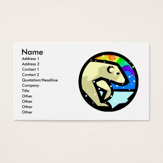 Polar Bear Business Cards