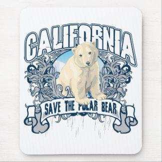 Polar Bear California Mouse Pad