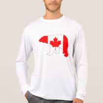 """Polar bear """"Canada"""" T-Shirt"""