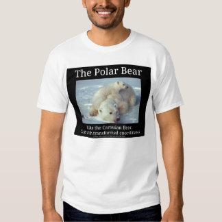 Polar Bear Cartesian Bear Shirt