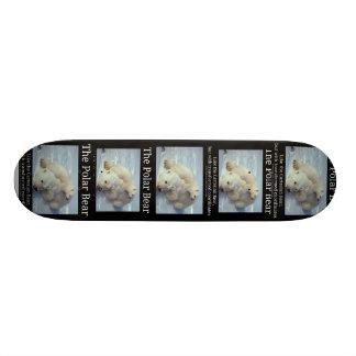 Polar Bear Cartesian Bear Skateboard