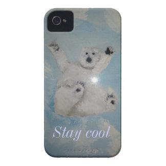 Polar Bear iPhone 4 Case-Mate Case