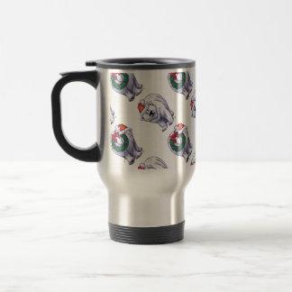 Polar Bear Christmas Mugs