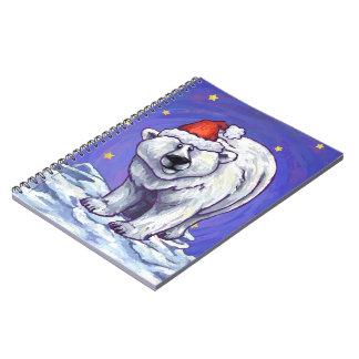 Polar Bear Christmas Note Book