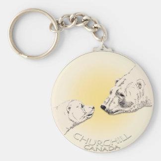 Polar Bear Chuchill Key Chain Souvenir Keychain
