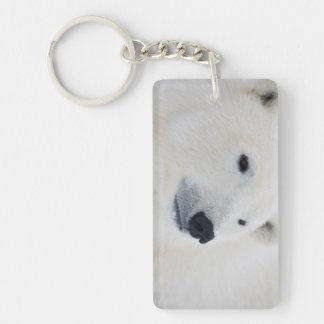 Polar Bear Churchill Keychain