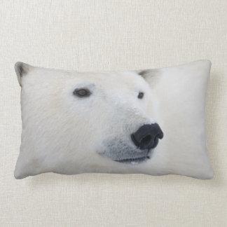 Polar Bear Churchill Lumbar Pillow