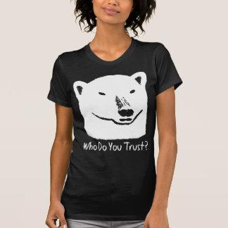 Polar Bear Climate change T-shirt Andy Trust